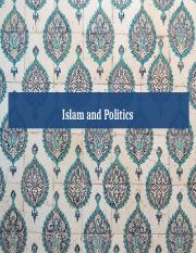 SOC 386_Lecture 8_Islam and Politics