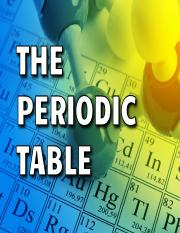 15 - The Periodic Table - PowerPoint.pptx