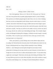 wrt 200 research paper rough draft