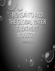 Monsanto and the Global Water Treatment Industry.ppt
