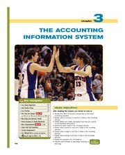 Chapter3 The Accounting Information System