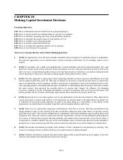 Fundamentals of Corporate Finance7eCh10