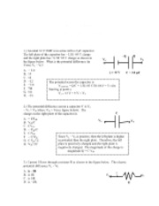 PHYS 2306 Test 2 Solution