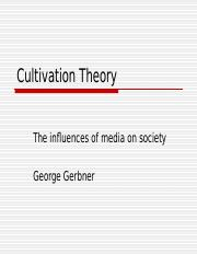 MC2001_Cultivation Theory Moodle Version