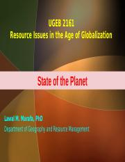 2017_Lecture 5_ State of the Planet_prt.ppt