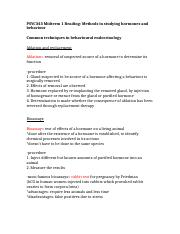 Midterm Reading- 1.5 Methods in studying hormones.docx