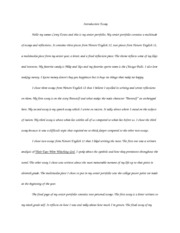Introduction Essay