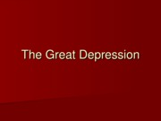 Lecture 13 - Great Depression (1)