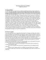 Discussion Leader Essay Guidelines.docx