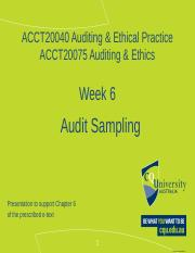 Lecturer  Wk 6 Audit sampling (1).pptx