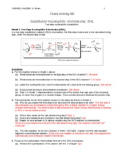 CHEM301 F08 CA9B key