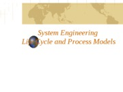 SE Life Cycle & Process Models (9-6-10)