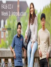 FA16 Week1 introduction_Monday