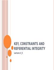 Key, Constraints and Referential Integrity.pptx