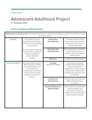 Adolescent Adulthood Project