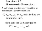12 how real and imaginary part functions of analytic function are related