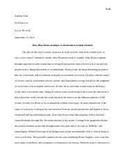 FYS essay on silas house.docx