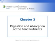 Nutrition Chapter_03  lecture notes