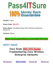 New Pass4itsure Cisco 300-370 Dumps PDF.pdf