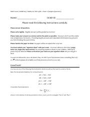 Thermodynamics_Sample_Exam_Problems Solution