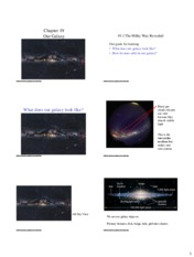 Lecture Slides on Our Galaxy