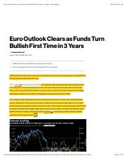 06.Euro Outlook Clears as Funds Turn Bullish First Time in 3 Years - Bloomberg.pdf