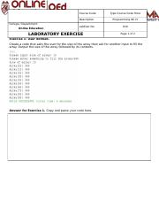 Week015-LabExercise-Arrays.docx