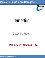 Budgeting Process.ppt