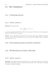 Fund Quantum Mechanics Lect & HW Solutions 70