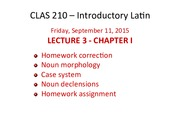 lecture 3 friday september 11