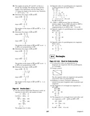 Pre-Calculus Homework Solutions 255