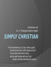 Simply Christian 01.ppt