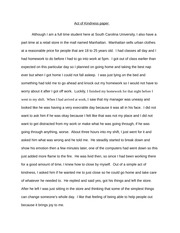 Lang Act of Kindness Paper Essay
