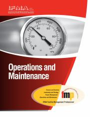 IFMA Manual - Operations and Maintenance (Highlighted).pdf