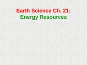 Powerpoint_Ch_21_Earth_Science
