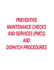 PMCS part 2 ppt - A-1 CONDUCT CONDUCT PREVENTIVE PREVENTIVE