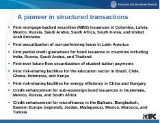 [IFC] Structured Finance Pioneer.pdf