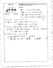 1063_Mechanics Homework Mechanics of Materials Solution