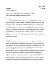 Theology online essay writing class