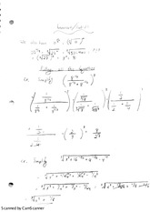 Exponents and Radicals Notes