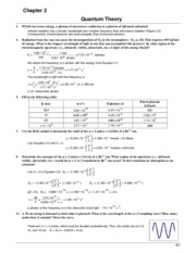 Chem 101 Book Answers (Ch.2)