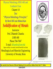 MSE 460-701 Ch.14 Solidifcation-DC.ppt
