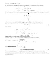 Lecture 10 Notes Lagrangian Theory
