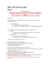JRNL 100 Study Guide final.docx
