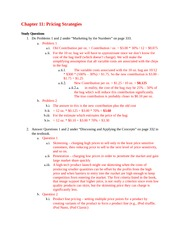 Answers Chapter 11