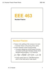 EEE463-Lect12-NuclearFissionPowerPlants