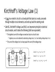 Kirchhoff's Voltage Law.pptx