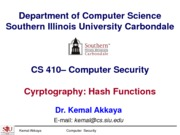 Cryptography-Hash