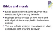 Ethics (Chapter 2)
