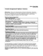 Science Standards Wk 5Assignment.docx